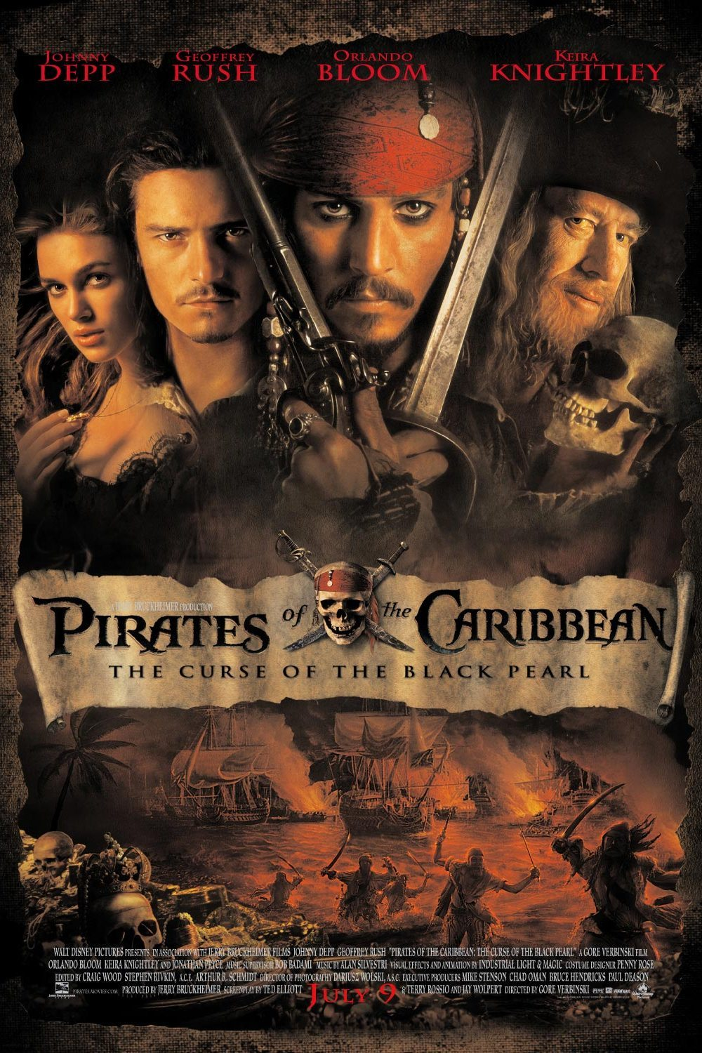 pirates of the caribbean retrospective � part one the