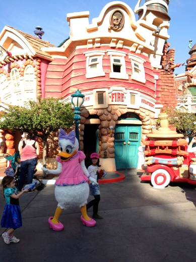 Characters walking around and not getting mobbed by throngs of people. The off season really is great.