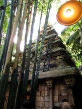 Another one of my favorites. Indiana Jones Adventure. They added some new projection mapping effects to the beginning portion of the ride and they actually work quite well. A decided improvement over the ol' smoke eyes.