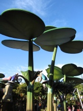 A Bug's Land. A pretty little section of the park that never-the-less should be replaced by something more significant.