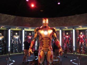 IRON MAN THREE's Mark 42 armor.