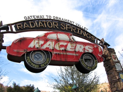 Similarly, Radiator Springs Racers is an incredibly impressive attraction with a few noteworthy issues. The biggest being that the big set piece in the middle of the ride is… a scaled-down version of the place you walked through to get to the ride. Still a fairly strong attraction, but held back just slightly from true greatness.