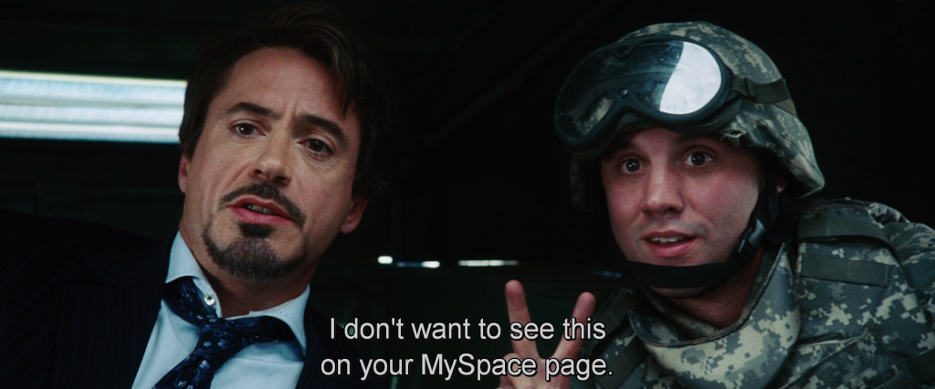Tony Stark saying