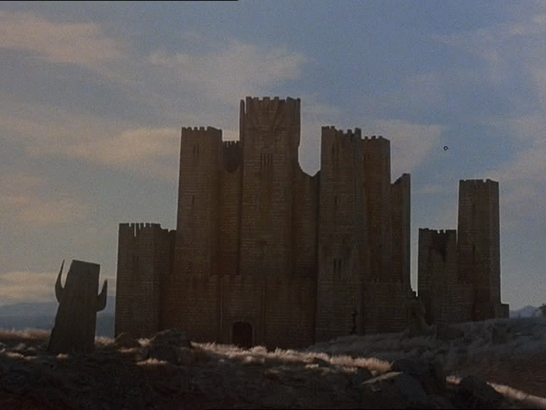 A large stone castle, home to Terak's marauders