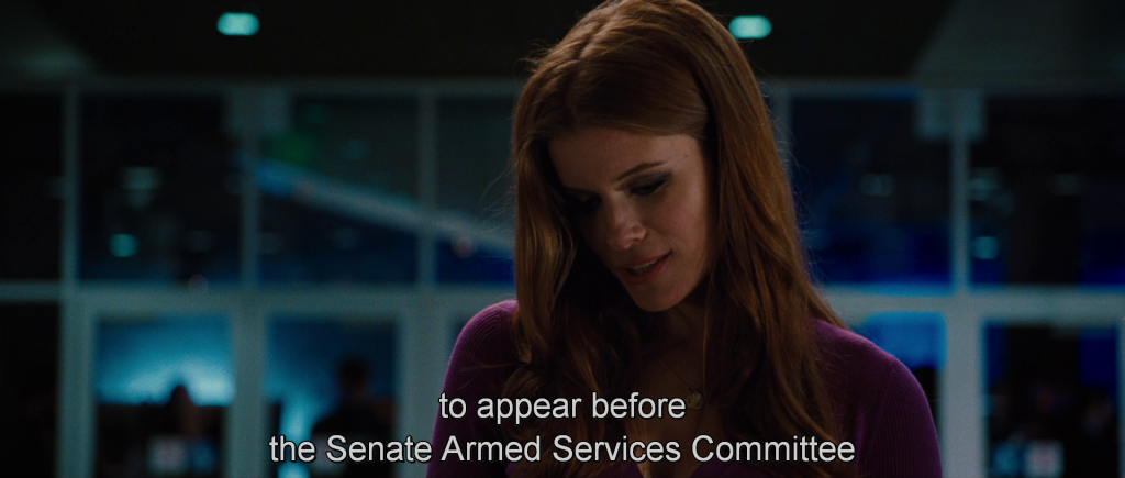 """""""…to appear before the Senate Armed Services Committee…"""""""