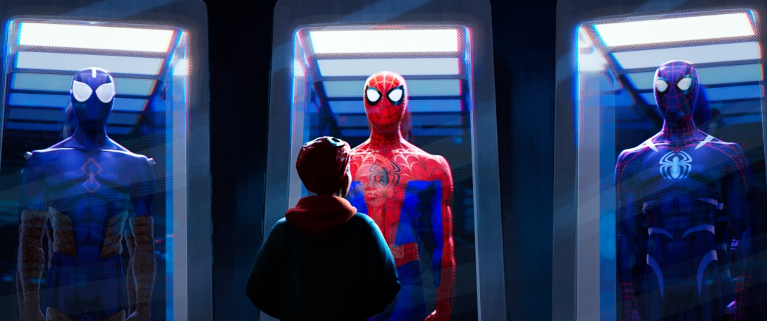 "Miles Morales in ""Spider-Man: Into the Spider-Verse""."