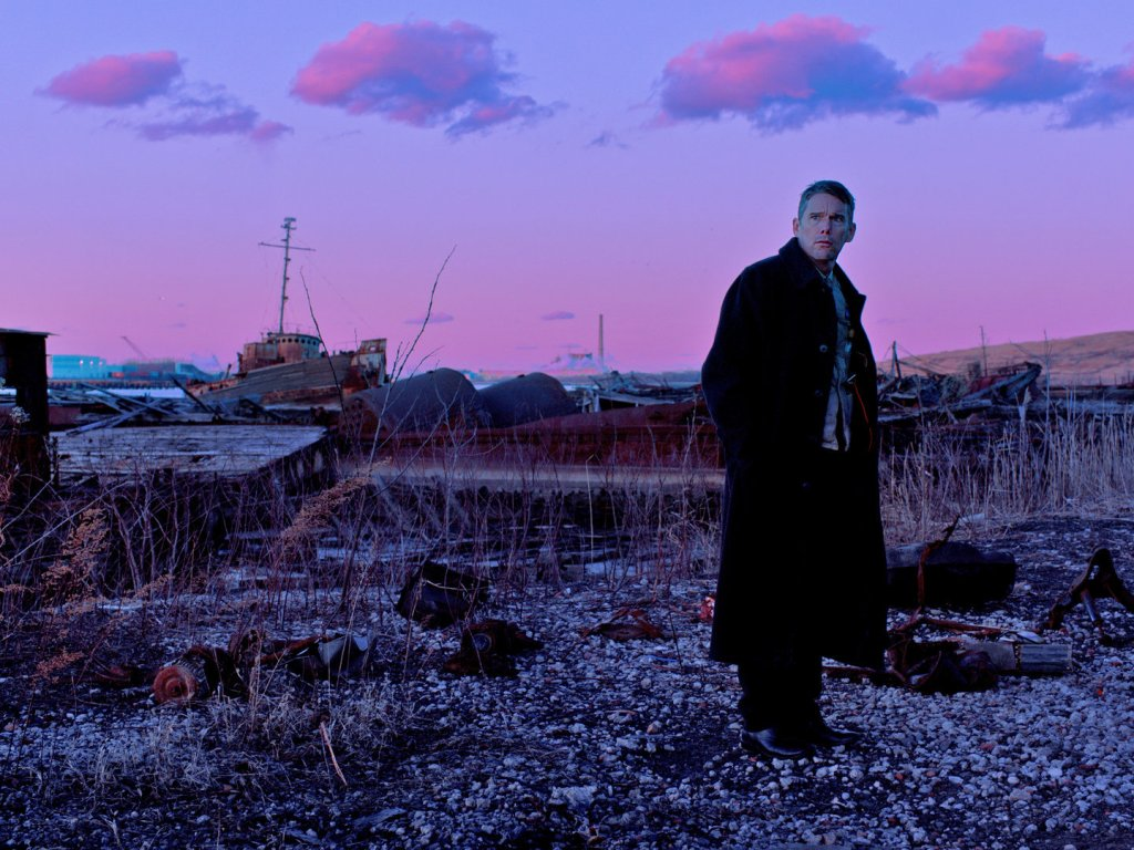 "Ethan Hawke in ""First Reformed"""