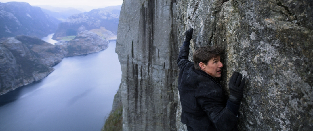 "Tom Cruise in ""Mission: Impossible – Fallout""."