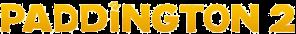 """Paddington 2"" logo."