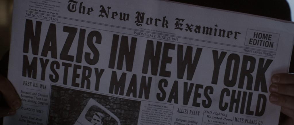Newspaper headline dated Wednesday, June 23, 1943