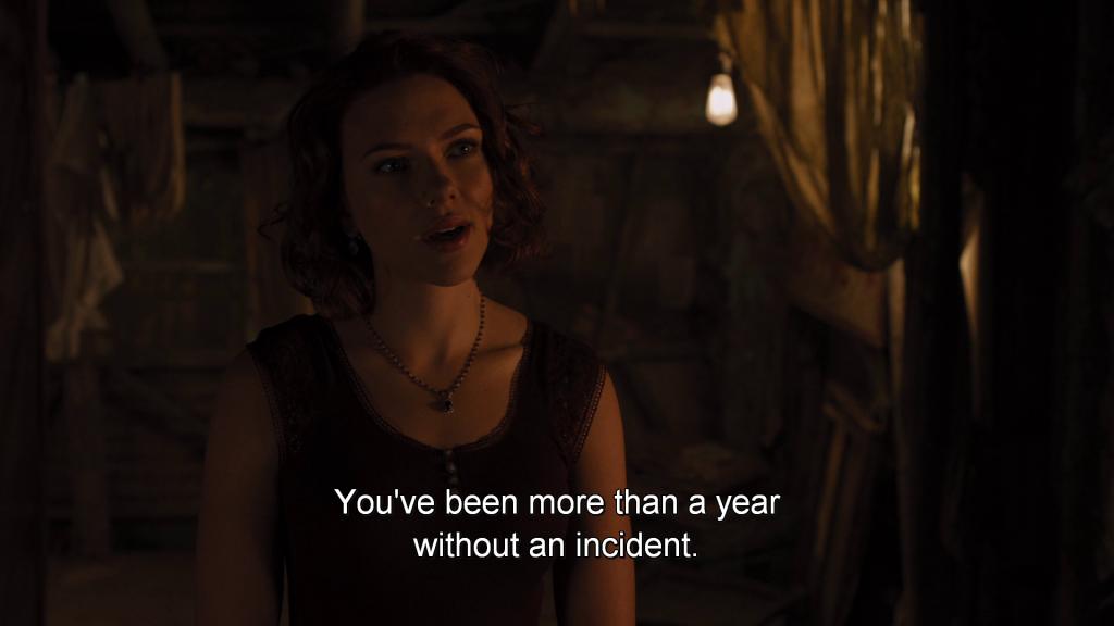 Natasha Romanoff reminds Bruce Banner,