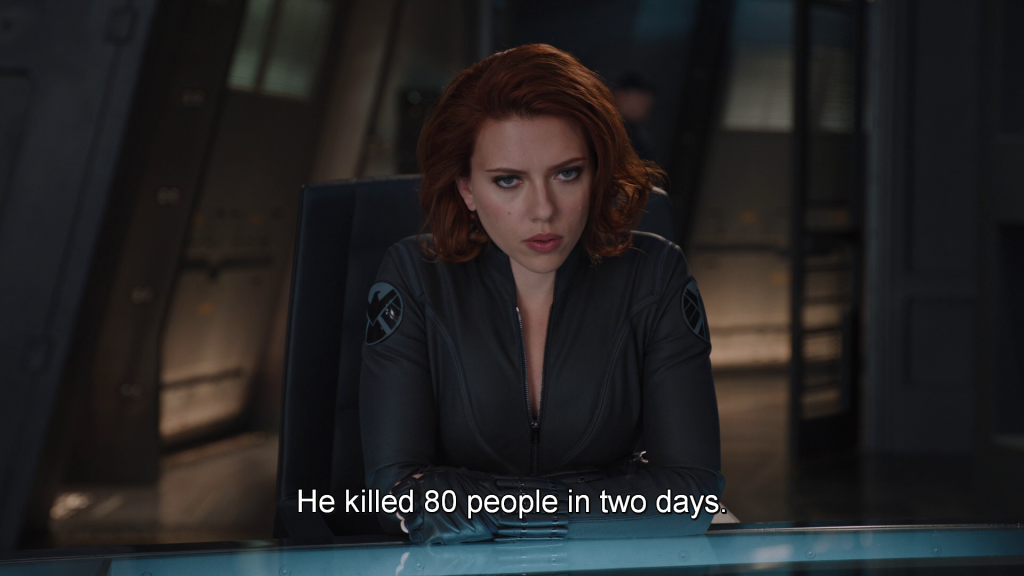 Black Widow about Loki,