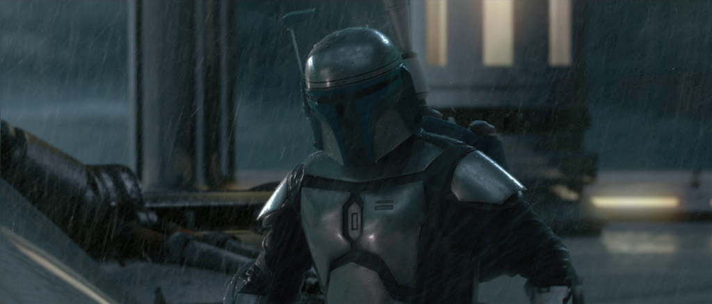 Temuera Morrison as Jango Fett in