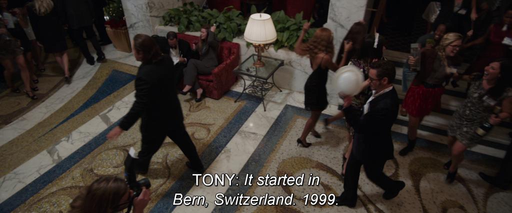 Tony Stark narrating,