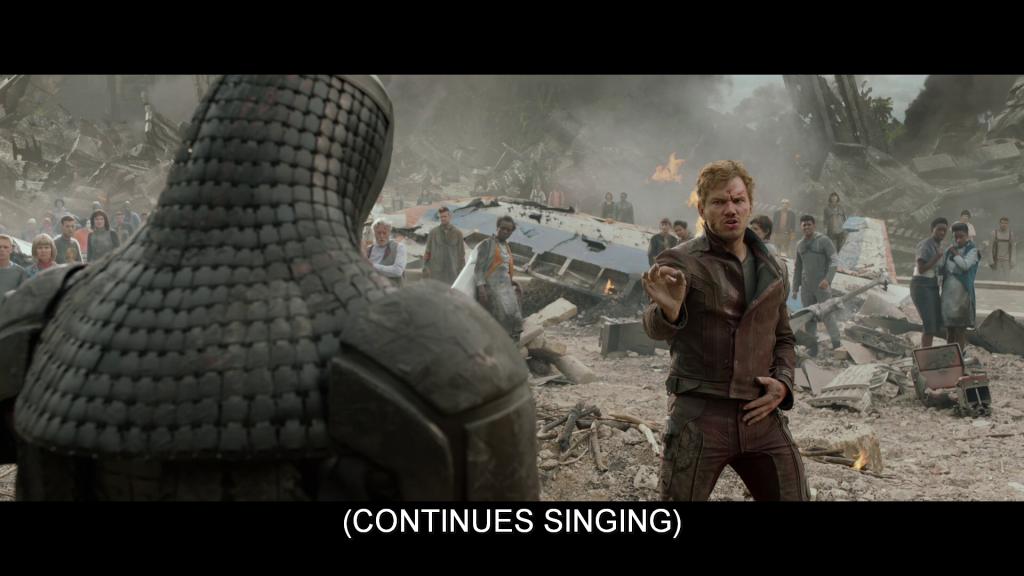 Subtitles read,