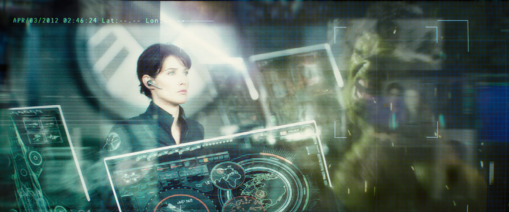 Picture of Maria Hill on a S.H.I.E.L.D. hellicarrier dated April 3, 2012.