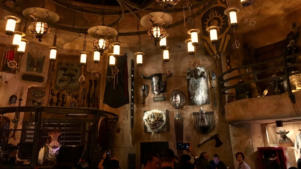 Dok-Ondar's Den of Antiquities in Star Wars: Galaxy's Edge